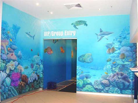 aquarium wall mural sidney aquarium mural