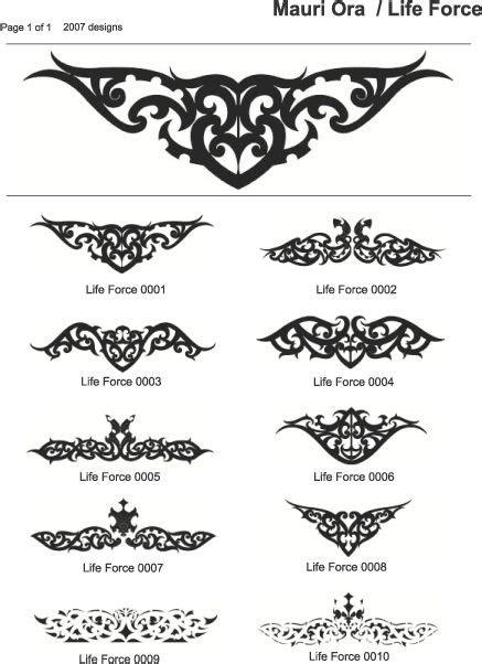 mauri tattoo design http www maori arts img lifeforce jpg maori