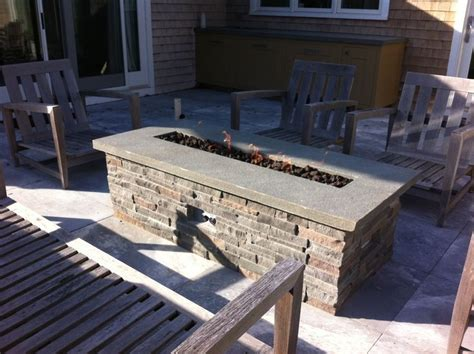 Diy Gas Firepit 1000 Ideas About Outdoor Pit Table On
