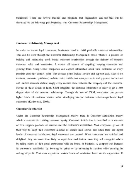 Loyalty Essay by Customer Loyalty Tis Essay 1