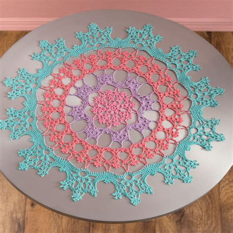 free pattern heart doily red heart free crochet doily patterns squareone for