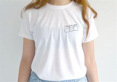 Tshirt Kaos Berak 8 One Clothing custom tees and t shirts i forgive you tshirt