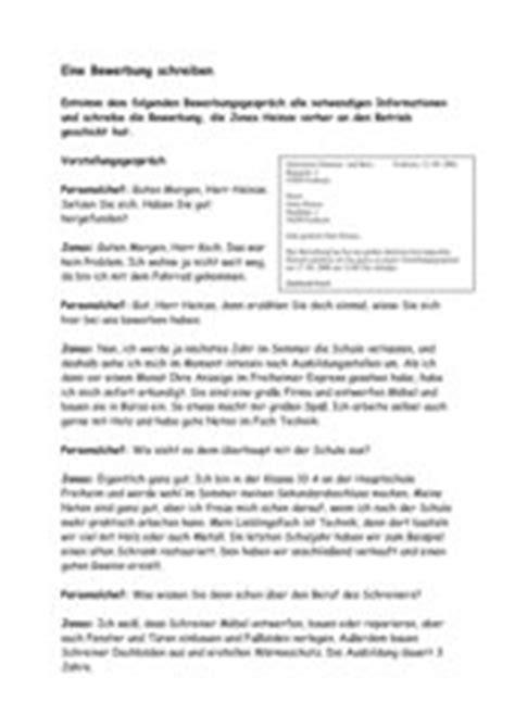 Bewerbungbchreiben Unterrichtsmaterial 4teachers Lehrproben Unterrichtsentw 252 Rfe Und