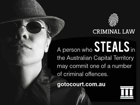 Can You Go To Australia With A Criminal Record Stealing Offences In The Australian Capital Territory Act