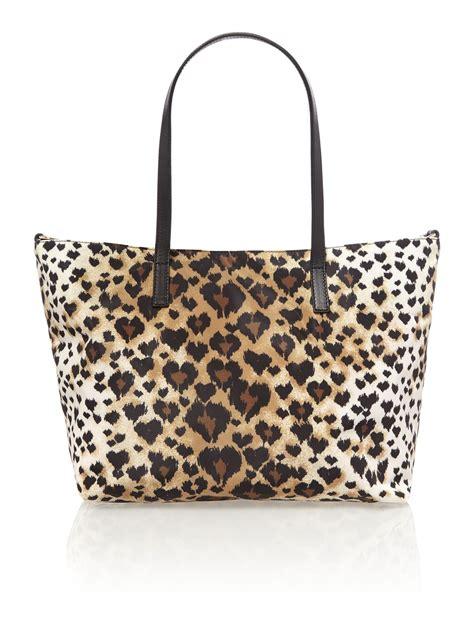 Valentino Leopard Print Bag by Valentino Multi Coloured Leopard Print Small Tote Bag