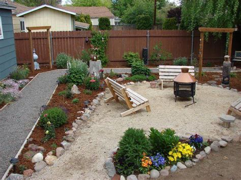 Budget Backyard Landscaping Ideas 71 Fantastic Backyard Ideas On A Budget Page 17 Of 71 Worthminer