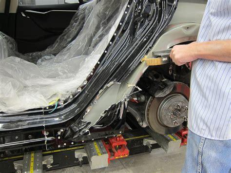 Tesla Repair Aluminum Repair Dorn S Paint Richmond Va