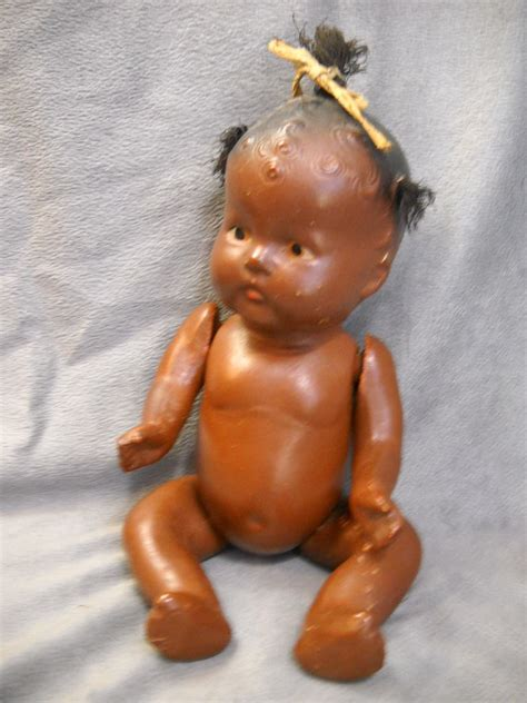 composition topsy doll vintage black americana topsy composition baby doll