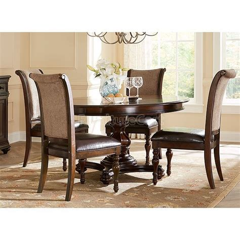 kingston plantation oval dining room set home decor mix amp match cappuccino oval dining room set from coaster