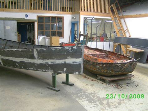 total boat skiff build traditional steel dutch dinghy and forest stream skiff