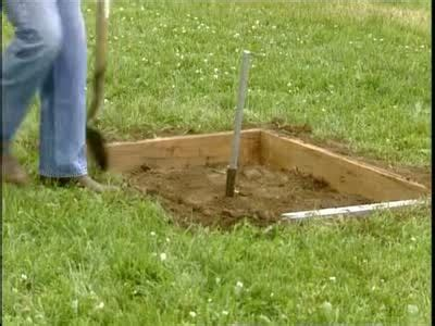 how to build a horseshoe pit in your backyard how to build a horseshoe pit video martha stewart