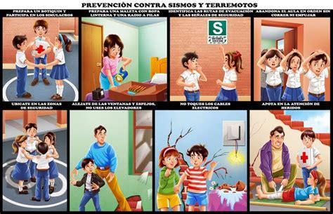 imagenes animadas sobre sismos como prevenir sismos y terremotos material para maestros