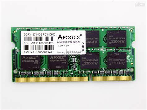Ram Ddr3 Apogee 2017 4gb apogee laptop ram pc3 10600 ddr3 1333mhz sodimm notebook memory ram card from hywc 36