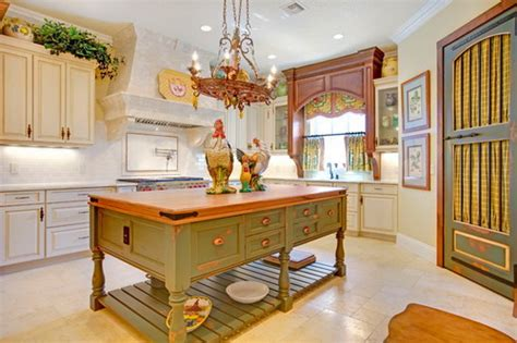 french country kitchen with antique island cabinets decor what you should to know about french country kitchen