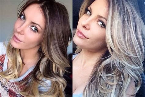 brunette gone blonde hugh hefner unimpressed by wife s new brunette do when