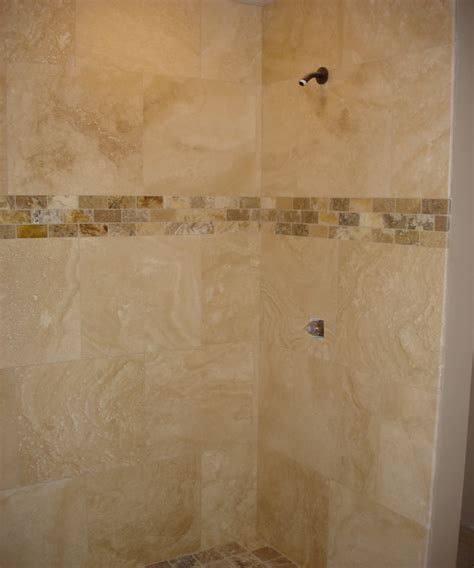 Bathroom Travertine Tile Design Ideas by 16x16 Tile Layout Patterns Studio Design Gallery