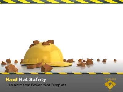 Safety Ppt Templates Safety Powerpoint Templates Hard Hat Work Safety A Powerpoint Template Microsoft Powerpoint Templates Safety