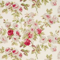 Victorian Style Upholstery Fabric Vintage Flowers Wallpapers Wallpaper Cave