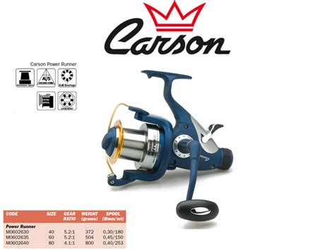 Spining Reel Dual Speed Sabpolo T Power 4000 10 Bearing carson power runner tackle4all fishing tackle shop