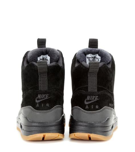 Sepatu Sneaker Nike Airmax Boot High Waterprof 1 lyst nike air max 1 mid sneaker boots in black