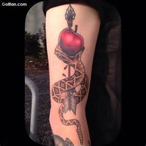 50 most beautiful snake apple tattoos 3d snake tattoo