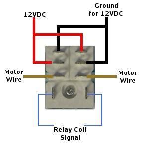 12 volt pole throw relay connect socket
