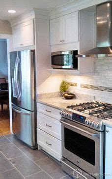 Refrigerator Placement In Galley Kitchen by Silver Cloud Granite Countertops Our Kitchen Materials