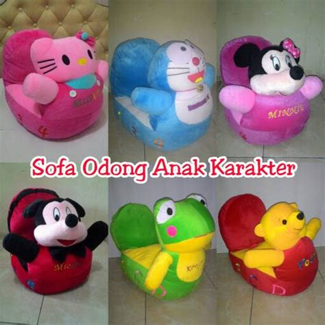 Karpet Rasful Set 9 Item Doraemon jual unik sofa odong boneka mickey minnie pooh hello