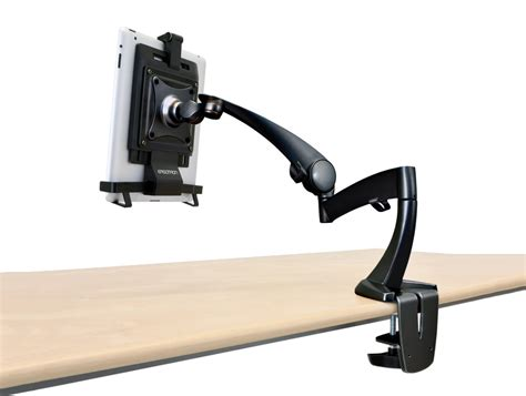 ergotron neo flex desk mount tablet arm radius office