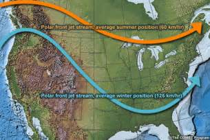 jetstream map canada jet streams climate education modules for k 12
