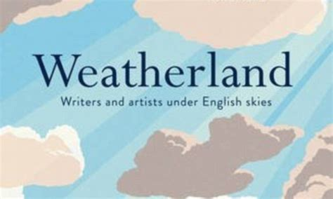 libro weatherland writers artists must reads weatherland by alexandra harris daily mail online