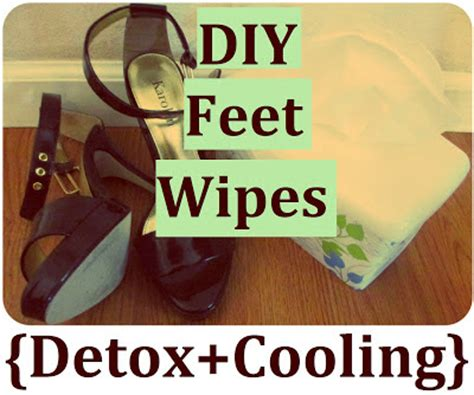 Why Does My Foot Detox Water Stink by Sself Chekmarev Diy Cooling Wipes How To