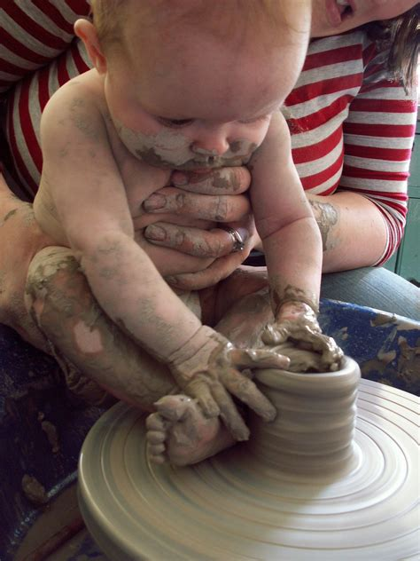 with clay eastnor pottery more clay babies