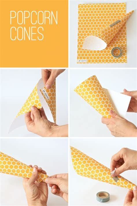 How To Make Paper Cones For Popcorn - winnie the pooh playdate paging supermom