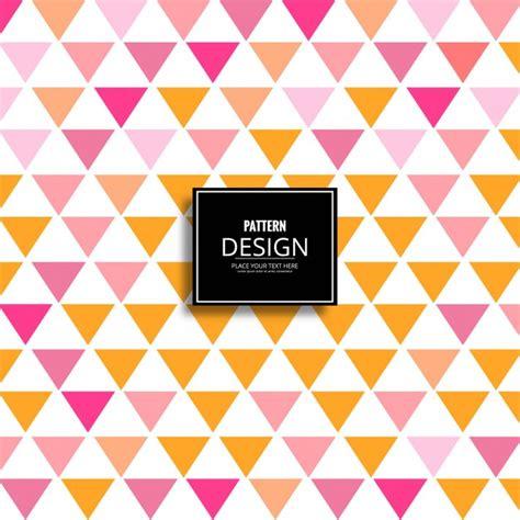 modern pattern ai modern geometric pattern background with triangular shapes