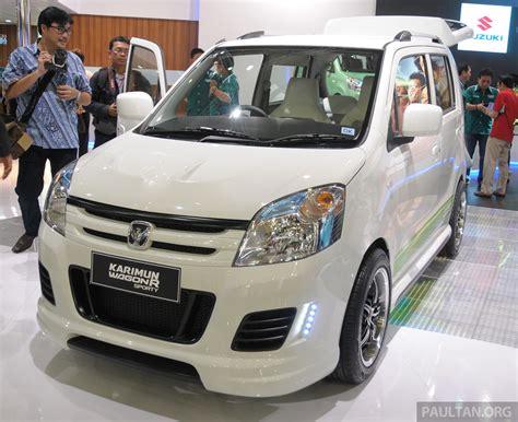 Suzuki New Karimun New Suzuki Karimun Wagon R And Stingray At Iims Image 199938
