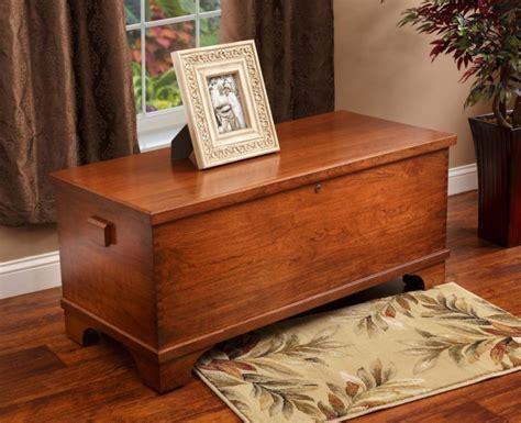 charleston large blanket chest oak cherry blanket