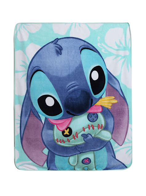 disney lilo amp stitch scrump hug comfy throw topic