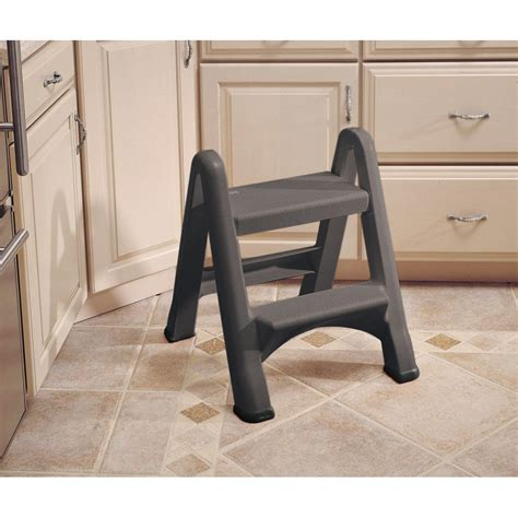 Rubbermaid Two Step Step Stool by Rubbermaid 420903 Two Step Step Stool Fg420903cylnd