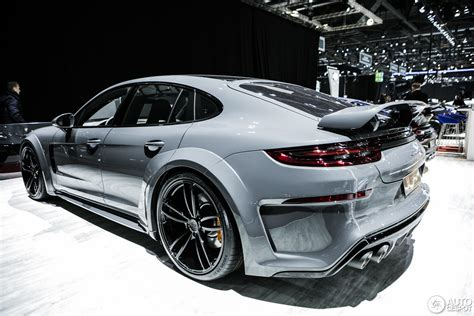 techart porsche panamera geneva 2017 porsche panamera techart grand gt