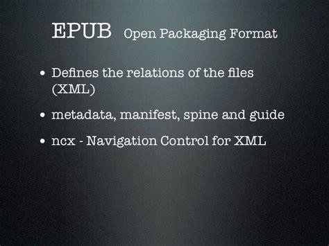 ebook xml format digital publishing solution for ebooks