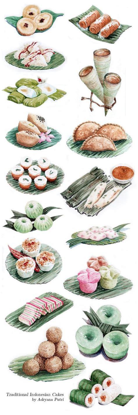 jajan pasar kue basah khas indonesia  artemiscrow