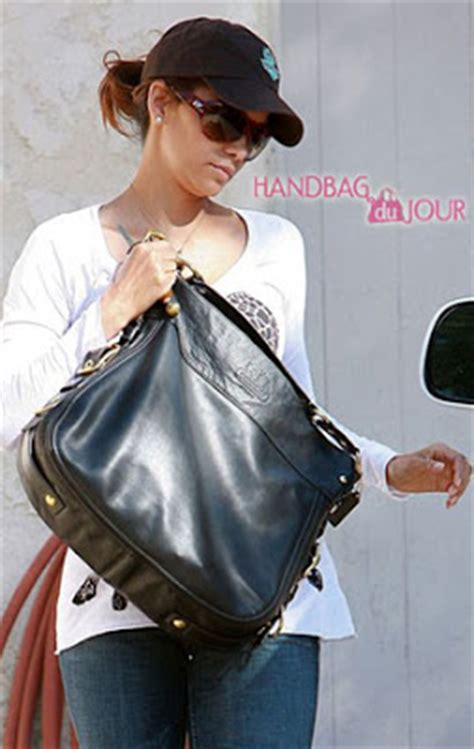 Name Halle Berrys Designer Purse by Cheaping July 2009