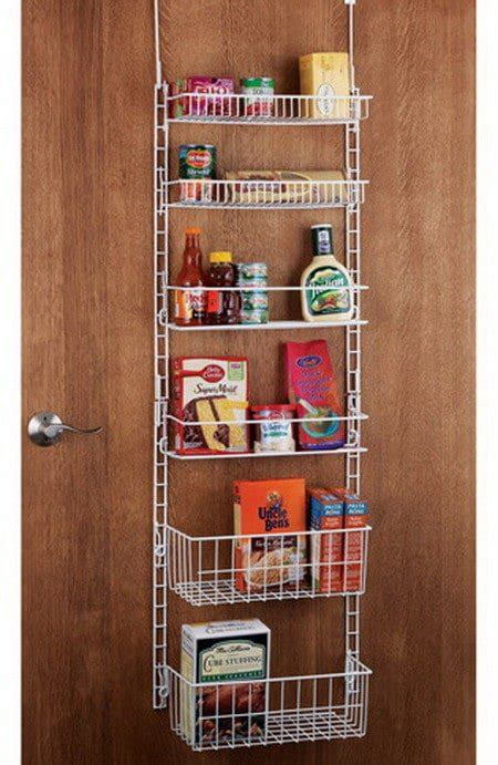 pantry door organizer kitchen organization storage ideas 28 organizing