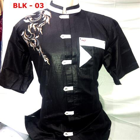 Tkd Baju Koko Busana Muslim Pria Cowok Lengan Panjang Warna Hijau Rd toko bagus baju muslim newhairstylesformen2014