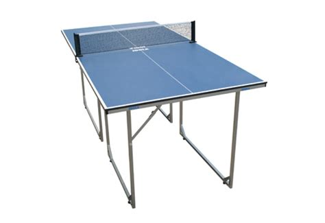 mid size ping pong table sharper image