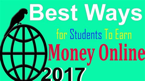 Newest Ways To Make Money Online - new skills 10 best ways for students to earn money