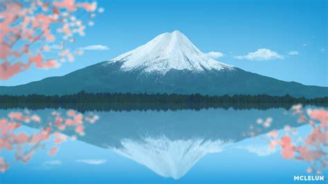 painting montana painting mount fuji