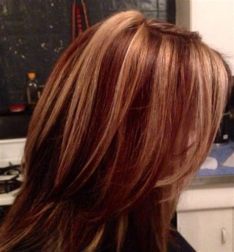 pictures of sapphire black hair with red highlights medium golden brown hair with honey highlights google