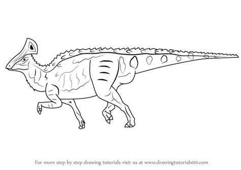 doodle dinosaur draw ruptor learn how to draw a hadrosaur dinosaurs step by step